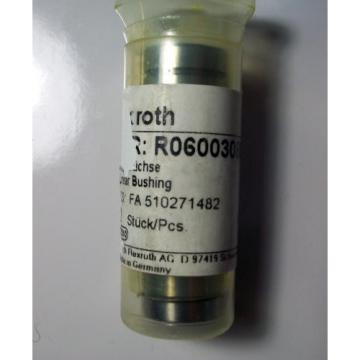 REXROTH Italy Egypt MNR: R060030800 LINEAR BUSHING, (Set of Four), *NEW*