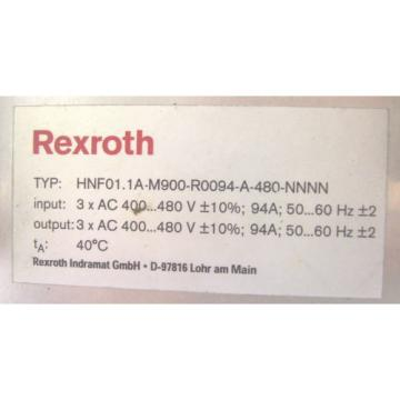 REXROTH USA Korea BOSCH   SERVO DRIVE   HNF01.1A-M900-R0094-A-480-NNNN    60 Day Warranty!