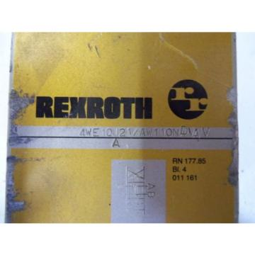 REXROTH India Greece 4WE10J21/AW110NDVAV *USED*