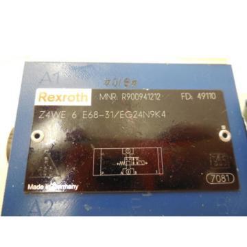 NEW Canada Japan REXROTH Z4WE-6-E68-31/EG24N9K4 VALVE Z4WE6E6831EG24N9K4