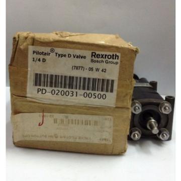 """PD-020031-00500 Japan Singapore Rexroth Type 'D' Pilotair® 2 Way Push/ Spring Air Valve, 1/4"""""""