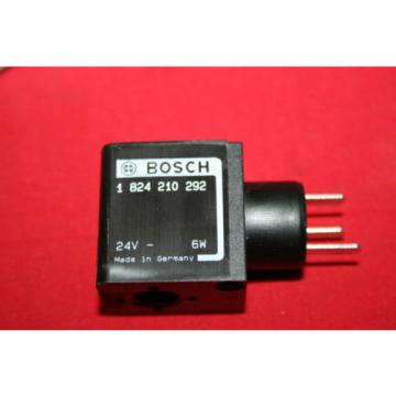 NEW Korea Canada Bosch Rexroth Solenoid Valve Coil 24VDC - 1 824 210 292 - 1824210292 - BNWOB