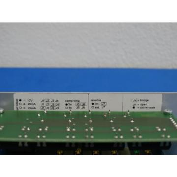 REXROTH France Korea AMPLIFIER CARD R900214082 MODEL  VT-VSPA2-50-1X/T5