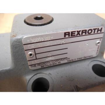 Rexroth Egypt Singapore Hydraulic Valve DR 10 DP2-41/75YM DR10DP24175YM New