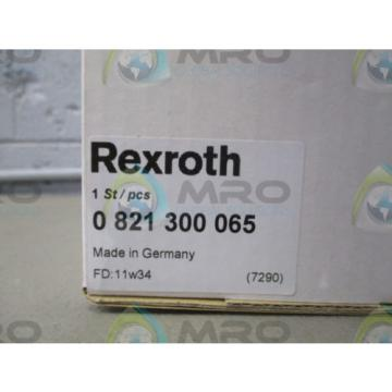 REXROTH Japan Egypt 0 821 300 065 FILTER LUBRICATOR REGULATOR *NEW IN BOX*