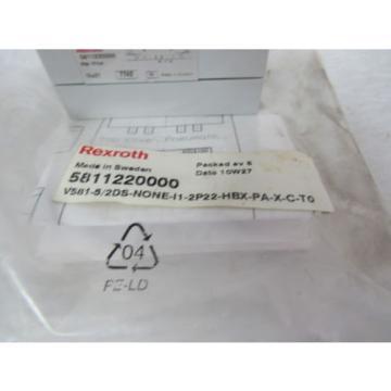 REXROTH India France SOLENOID VALVE 581-122-031-2