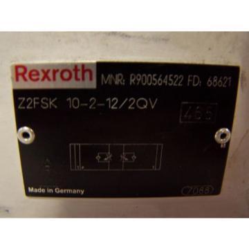 NEW Dutch India REXROTH DOUBLE THROTTLE HYDRAULIC CHECK VALVE Z2FSK 10-2-12/2QV
