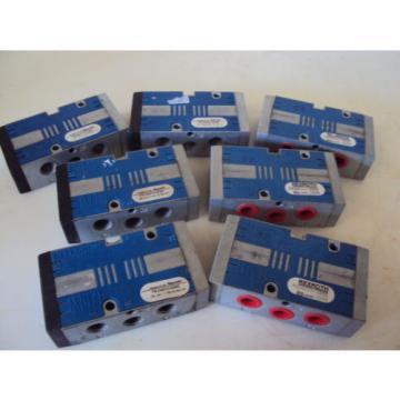 REXROTH Canada Japan  PS34010-3355  PNEUMATICS VALVES LOT OF (7)  USED