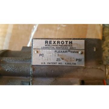 Rexroth China India 150PSI FLEXAIR VALVE model SG-8D-O pc p60738 used