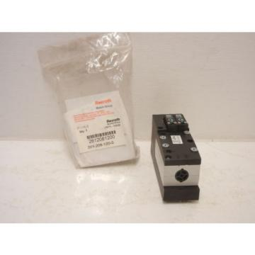 REXROTH India Canada BOSCH 261-208-120-0 NEW 261-2 PNEUMATIC VALVE 2612081200