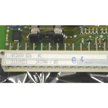 REXROTH Egypt Egypt VT 3000 S36 Proportionalverstärker AMPLIFIER CARD VT3000S36