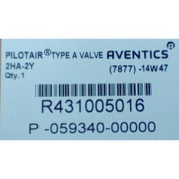 Rexroth Dutch Canada R431005016, 2-HA-2Y PILOTAIR VALVE FOUR-WAY P59340