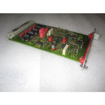 Warranty China Italy INDRAMAT REXROTH ASB 2 109-482-4201B-2 99400014 CONTROL MODULE BOARD