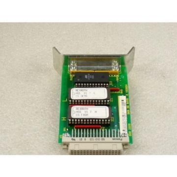 Rexroth Dutch Canada AS131/006-000 Programmiereinschub für Motor 2AD 100C - … - AS . 3