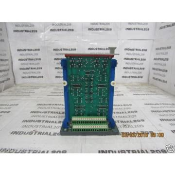 REXROTH Japan Australia AMPIFLIER CARD ES43A8-1561 QLC-1 w/ CARD HOLDER VT3002 USED