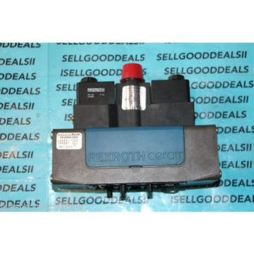 Rexroth USA Egypt GS-030062-00909 Ceram Solenoid Valve 24VDC New