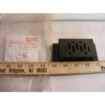 Rexroth Dutch Egypt Bosch 901-F1ATF 1/2 Inch Valve