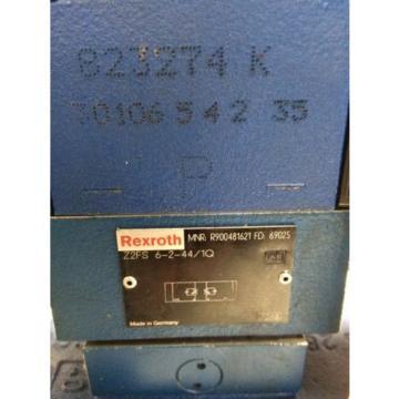 NEW Dutch Canada REXROTH R900904406,Z2FS 6-44/1Q, VALVE,R978008115,4WE6J61/EW110N9DK25L CE