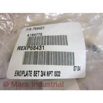 Rexroth Australia Australia Bosch Group P68431 End Plate (Pack of 3) - New No Box