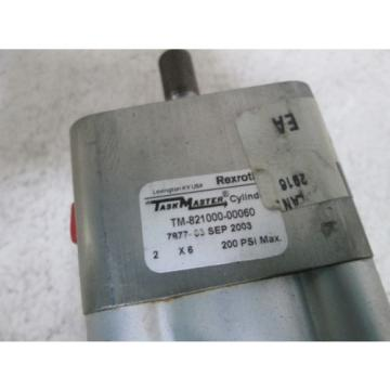 REXROTH France Canada CYLINDER TM-821000-00060 *NEW NO BOX*