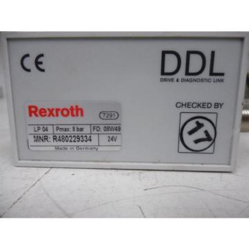 USED China France Rexroth R480229334 DDL LP04 Series Valve Terminal System Module 0820062101