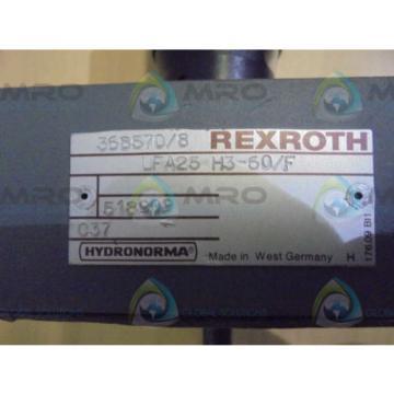 REXROTH Singapore India  LFA25H3-60/C  HYDRONORMA *NEW NO BOX*