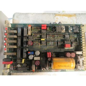 REXROTH Canada Singapore VT5006 PROP. AMPLIFIER CARD