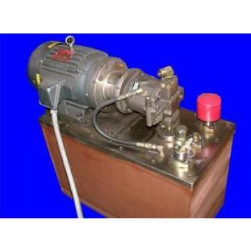 VERY NICE 3 HP REXROTH HYDRAULIC PUMP MODEL AA10VS028DRG/31R-PKC62N00 460 VOLTS