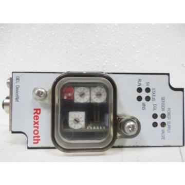 USED Japan Japan Rexroth 3375000370 DDL DeviceNet Pneumatic Valve Driver V 4.0