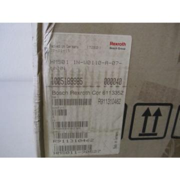 REXROTH China India INDRAMAT  HMS01.1N-W0110-A-07-NNNN ,,, HMS011NW0110A07N