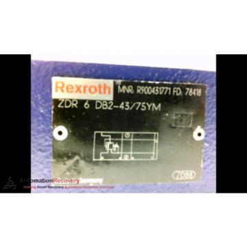 REXROTH Mexico Canada R900431771 HYDRAULIC VALVE #185919