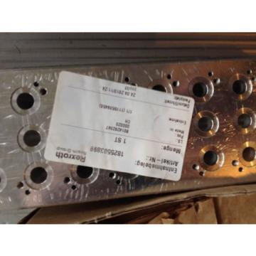 Rexroth Korea Japan valve Manifold and 6 x 0820 038 152 valves