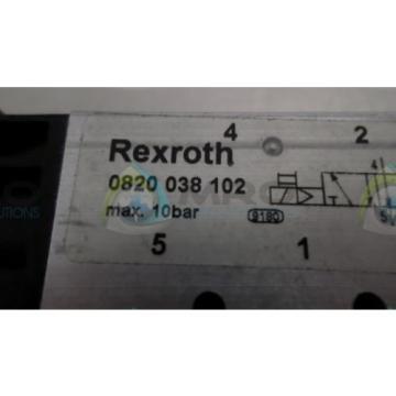 REXROTH Dutch Mexico 0820038102 *NEW NO BOX*