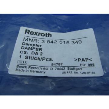 Bosch Italy Germany Rexroth DA2/10 Cushion Stop  3842515349 NEW