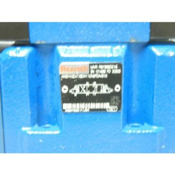 REXROTH USA Germany 4WEH10E47/6EW110N9TDA/B10 NEW HYDRAULIC VALVE 4WEH10E476EW110N9TDAB10