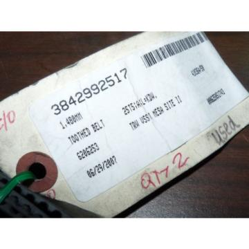 NEW USA Canada BOSCH REXROTH 3842992517 TOOTHED BELT CONVEYOR 25T5;A;L=KDW 1,480MM LENGTH