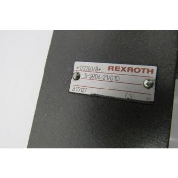 REXROTH Mexico Canada VALVE 3HSR06-21/01D