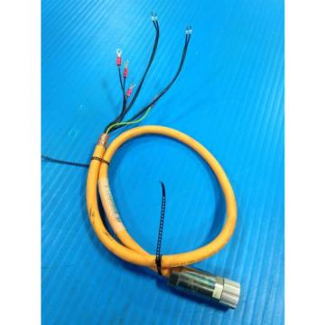 USED India Greece REXROTH INDRAMAT IKG4009 CABLE ASSEMBLY INK0653 1 METER (A15)