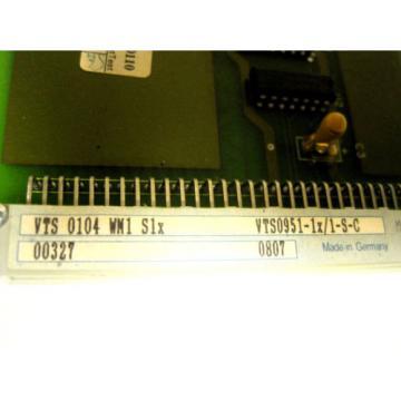 REXROTH Mexico Canada VTS0104 BOARD VTS-0104
