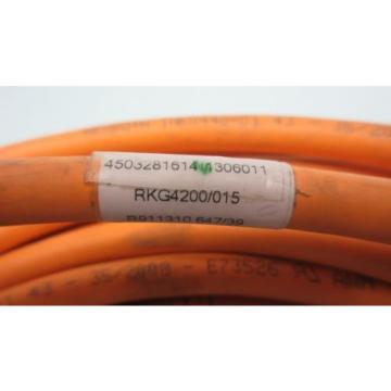 Rexroth Australia Dutch Indramat RKG 4200/015 15M Steuerleitung