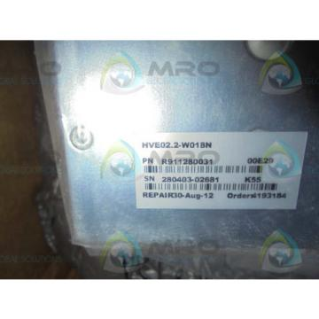 REXROTH Greece Canada INDRAMAT HVE02.2-W018N  *NEW IN BOX*