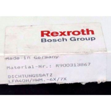 NIB China Italy REXROTH HYDRAULICS R900313867 SEAL KIT LFA40H/HWM.-6X/7X