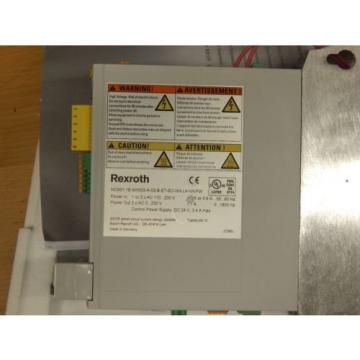 Rexroth France Greece IndraDrive Cs HCS01.1E-W0003-A-02-B-EC-EC-NN-L4-NN-FW Unbenutzt