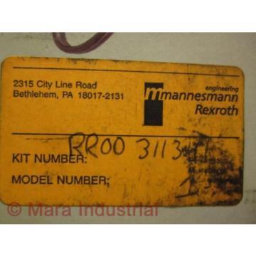 Mannesmann Germany Korea RR00-311341 Rexroth Kit