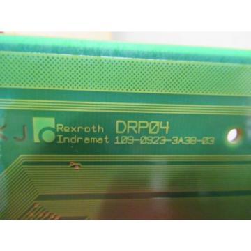INDRAMAT China USA REXROTH CIRCUIT BOARD DRP04 109-0923-3B38-03 109-0923-3A38-03