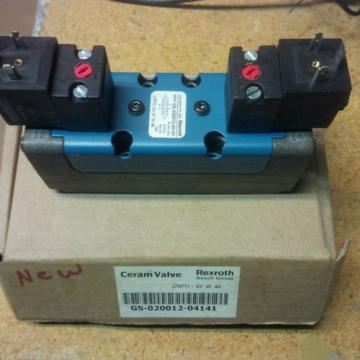 Rexroth Canada Canada ceram valves(set of 2)R434000061/GS02001204141 New