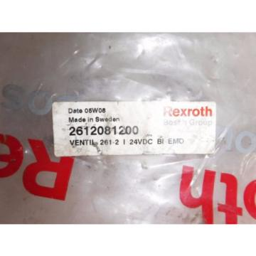 REXROTH Germany Canada BOSCH 261-208-120-0, 24VDC PNEUMATIC VALVE 2612081200
