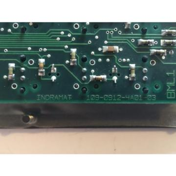 Rexroth Canada Germany Indramat 109-0912-4A01-03 Axis Control Circuit Board 10909124A0103