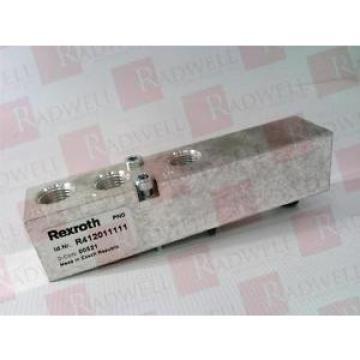 BOSCH Germany Italy REXROTH R412011111 RQANS2