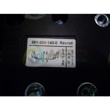 REXROTH Germany Australia 261-208-140-0 *NEW NO BOX*